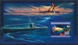 D - [401864]TB//**/Mnh-Guinée 2006 - Le Nautile Et L'epave Du Titanic, Sous-Marins, Bateaux - Ships