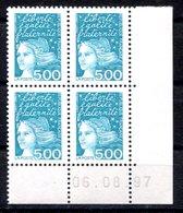 RC 16817 FRANCE N° 3097 COIN DATÉ MARIANNE DE LUQUET 06.08.97 NEUF ** TB MNH VF - 1990-1999