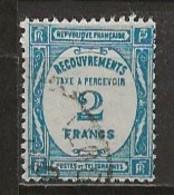 FRANCE:, Obl., TAXE N° YT 61, AB - Taxes