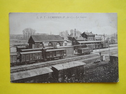 Lumbres ,gare ,train - Lumbres