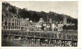 Dinant : Kolonnenbrücke Bei Dinant ( Deutsche Truppen Auf Dem Vormarsch über Eine Kolonnenbr  1914/15  WWI WWICOLLECTION - Dinant