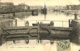 025 813- CPA - France - (14) Calvados - Caen - L'Ecluse Et Le Port - Caen