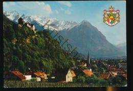 Liechtenstein - Vaduz Mit Schloss Vaduz [Z02-0.376 - Liechtenstein