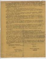 1950 ° Jury D'Honneur Constitué Sur La Demande Du Comissaire De Police M Pour Apprécier Son Activité Dans La Résistance - Documents Historiques