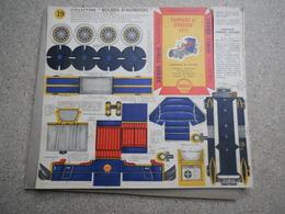COLLECTION SCHELL BERRE, BOLIDES D AUTREFOIS N°19.21.22.23.24.26.27.28.29.31.35, MAQUETTE EN CARTON - Kartonnen Modellen / Lasercut