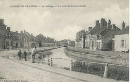 Guines - Le Batelage - Le Canal De Guines à Calais - Guines