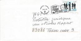 LETTRE : CAMP MONACO 1913-2013 - Postmarks