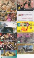 11 Télécartes Chypre Lot1 - Chypre