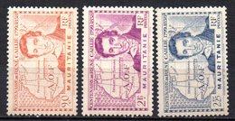 Col17  Colonie Mauritanie  N° 95 à 97 Neuf XX MNH   Cote 5,20€ - Unused Stamps
