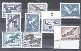 Poste Aerienne 1950-1953 Serie Complète + 2 Doubles Neufs Sans Charnière, **, MNH - Airmail
