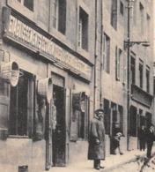 ►SAINT-JUST-MALMONT◄43►CPA◄30 08 1916► RUE CENTRALE◄À GAUCHE, ÉTABLISSEMENTS ÉCONOMIQUES DU CASINO►ÉDIT. DUBOUCHET - France