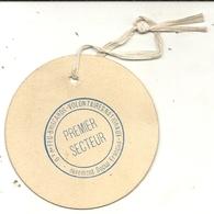 BADGE . CROIX DE FEU .BRISCARDS VOLONTAIRES . - Historical Documents