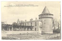 CPA 85 -  Vendée 121. LA BRUFFIERE - Château De L'Echasserie - Maison De Campagne De Son Eminense Le Cardinal Richard - France