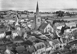 REVILLE - Vue Générale Aérienne - L'Eglise  (CPSM Grand Format) - Autres Communes