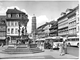 Omnibusse Büssing Trambus,Göttingen,Gänseliesel, Gelaufen - Bus & Autocars