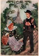 CPSM - Illustration HOMUALK - En Parcourant  La BRETAGNE - BANNALEC - Edition Artaud Gaby / N°77 - Homualk