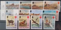 ILE DE MAN / ISLE OF MAN 1973 Cote/Value 10 € N° 2 à 5 + 7 + 8 + 11 + 13 à 17 ** MNH. TB/VG - Isola Di Man