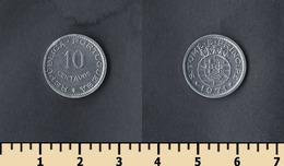 Sao Tome And Principe 10 Centavos 1971 - São Tomé Und Príncipe