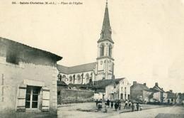 SAINTE CHRISTINE     Place De L'eglise - Frankreich