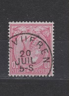 COB 46 Oblitération Centrale TERVUEREN - 1884-1891 Leopoldo II