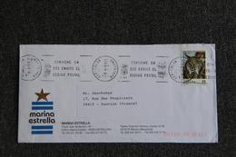 Timbre Sur Lettre D'ESPAGNE ( BARCELONE ) Vers FRANCE - 1931-Aujourd'hui: II. République - ....Juan Carlos I