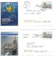Lettres Entier Postal.  TOULON Prêt à Poster LE CHARLES DE GAULLE - Listos A Ser Enviados: Otros (1995-...)