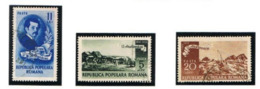 ROMANIA - SG 2045.2047  - 1950 I. ANDREESCU, PAINTER (COMPLET SET OF 3) - USED° - RIF. CP - Oblitérés