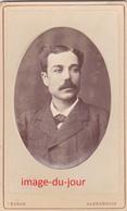 PHOTO CDV  EGYPTE 1880  C.B LHOSE ALEXANDRIE PORTRAIT D' UN HOMME - Photos
