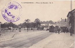 CPA - Longjumeau (91) Essone - Place Du Marché - Longjumeau