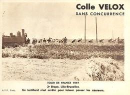 Tour De France 1947   2 Iéme  Lille-bruxelles  Un Tortillard... - Radsport