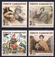 2020 TURKEY HALEPLIBAHCE MOSAICS MNH ** - 1921-... Republic