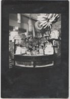 9211. Vintage Foto Photo Epoca Negozio Alimentari Antica Drogheria Grocery Store - Nestlè Formaggio - 10x7 Italia Italy - Mestieri
