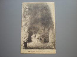 AUBY-SUR-SEMOIS - INTERIEUR DE LA GROTTE ST. REMACLE - Bertrix
