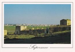 (B386) - SUPERSANO (Lecce) - Panorama Del Paese Dalla Masseria Pizzo Falcone - Lecce