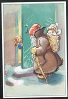 Finland, Stationery Post Card 1992, Martta Wendelin Christmas Mint - Postwaardestukken