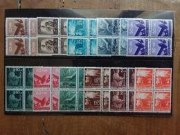 REPUBBLICA - Democratica - 11 Quartine Nuove ** × 0,20 Cad. + Spese Postali - 6. 1946-.. Repubblica