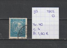 IJsland 1902 - Yv. 40 - Michel 41 Gestempeld/oblitéré/used - Usados