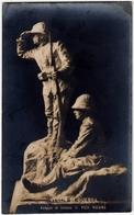 MILITARI - VEGLIA DI GUERRA - GRUPPO IN BRONZO DI VICO VIGANO' - 1912 - Vedi Retro - Formato Piccolo - Militari
