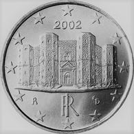 MONNAIE 1 Cent 2002 ITALIE Euro Fautée Non Cuivrée Etat Superbe - Abarten Und Kuriositäten