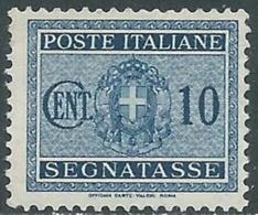 1934 REGNO SEGNATASSE 10 CENT MNH ** - RC11-6 - 1900-44 Vittorio Emanuele III