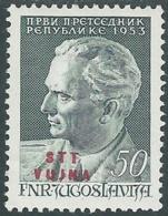 1953 TRIESTE B COMPLEANNO DI TITO MH * - RC15-3 - Trieste