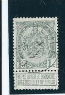 OCB 81 - Afstempeling HEULE - COBA 10 - 1893-1907 Wappen