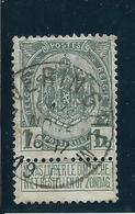 OCB 81 - Afstempeling ALVERINGHEM - COBA 8 - 1893-1907 Wappen