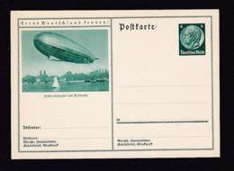 """6 Pf. Bild-Ganzsache """"Zeppelin In Friedrichshafen"""" - Ungebraucht - Zeppelins"""