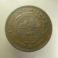 South Africa 1 Penny 1898 - Afrique Du Sud