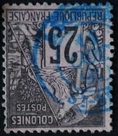 -Sage Type ALPHEE-DUBOIS. N° 54 Y&T .O ST Denis REUNION. OCT 1890. - Alphée Dubois
