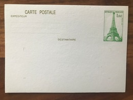 EP51 Entier Postal N° 429 Paris Tour Eiffel Neuve - Postal Stamped Stationery