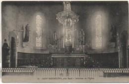 56 SAINT-BARTHELEMY , Près Baud  - Intérieur De L'Eglise - Frankreich