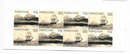 2007  MNH Faroe Island, Färöer, Booklet, Postfris - Isole Faroer