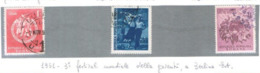 ROMANIA - SG 2117.2119 - 1951 YOUTH FESTIVAL (COMPLET SET OF 3)   - USED° - RIF. CP - Oblitérés